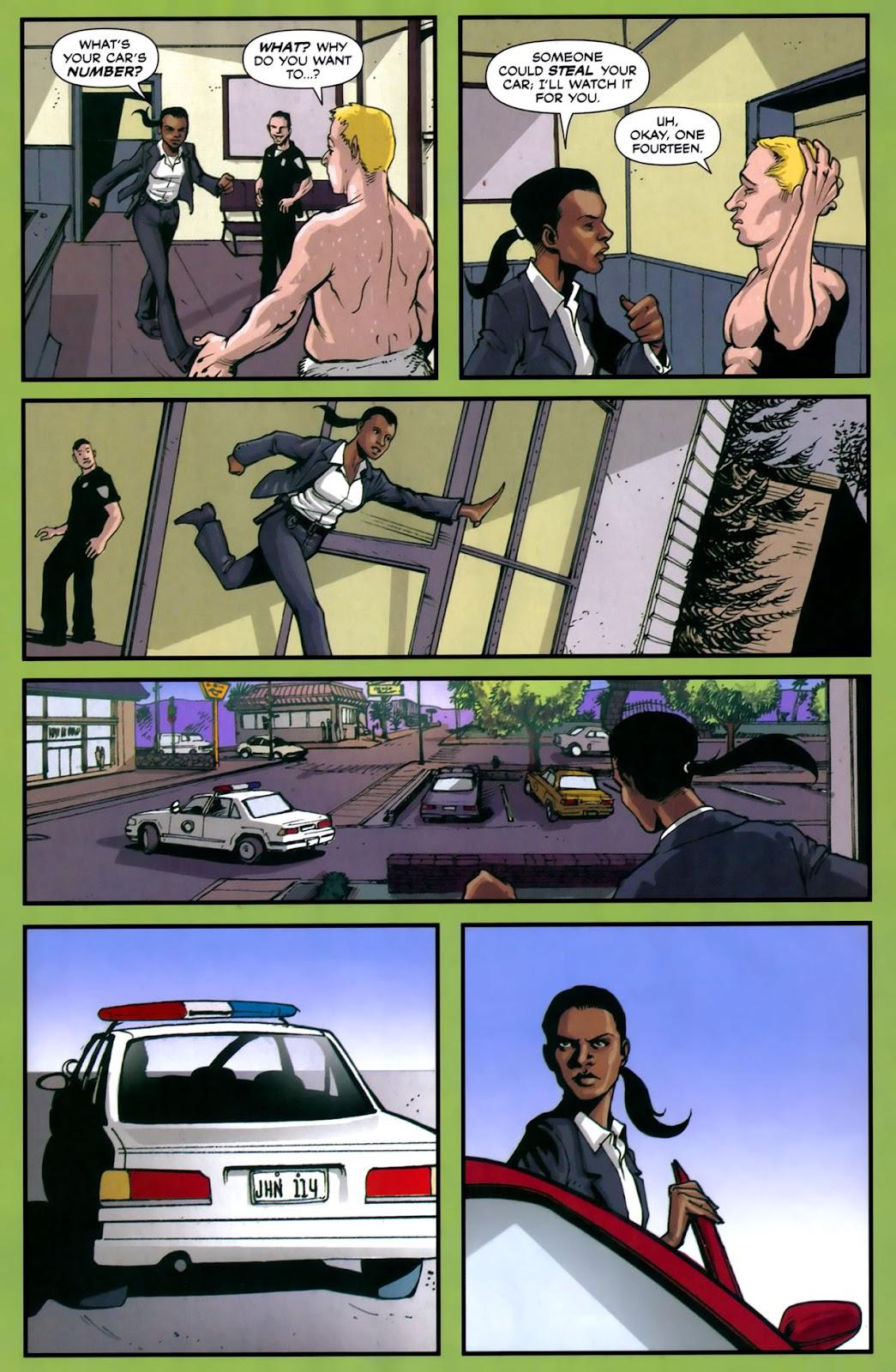 Read online Lazarus (2007) comic -  Issue #2 - 8