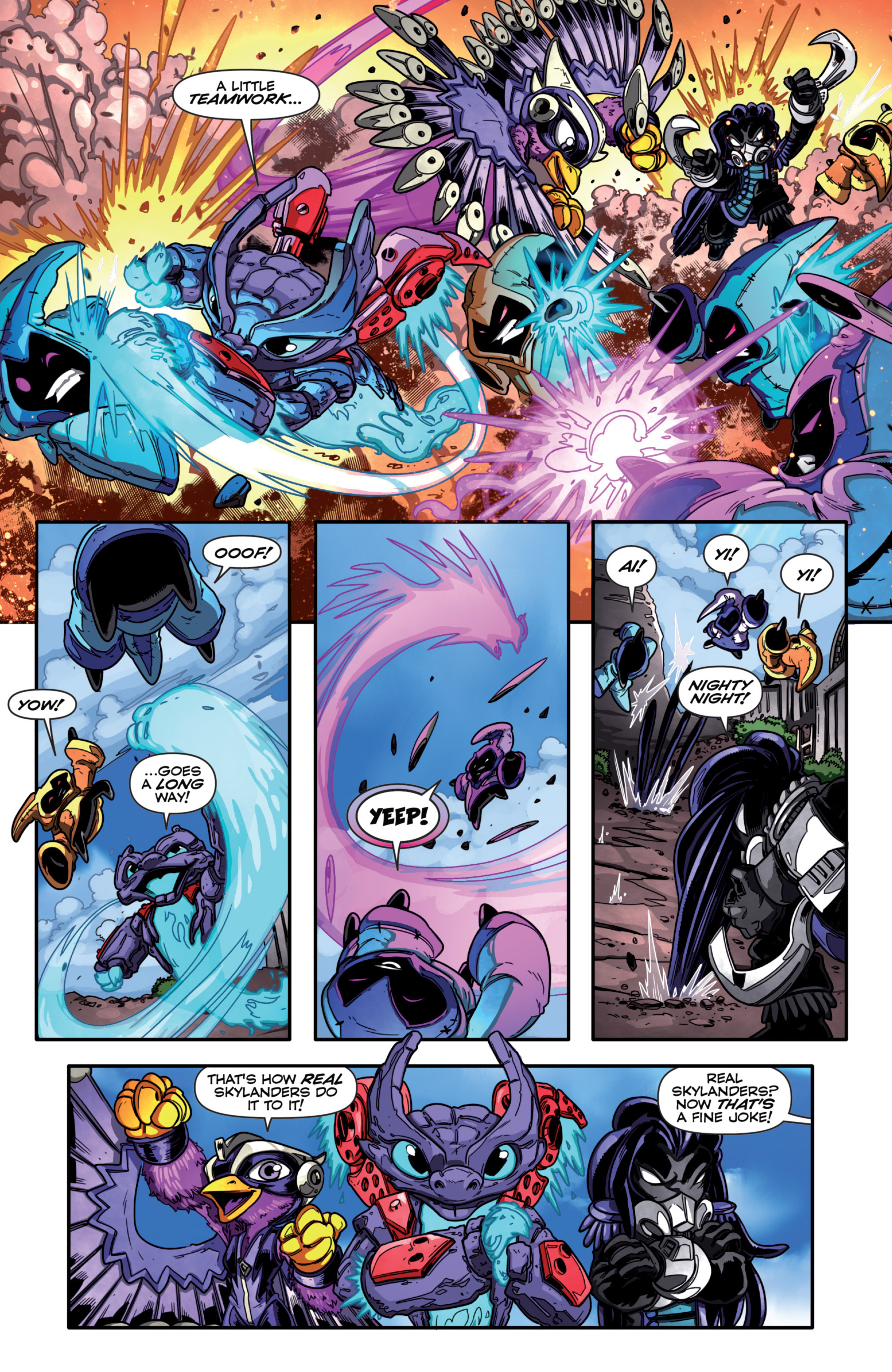 Read online Skylanders Superchargers comic -  Issue #1 - 17