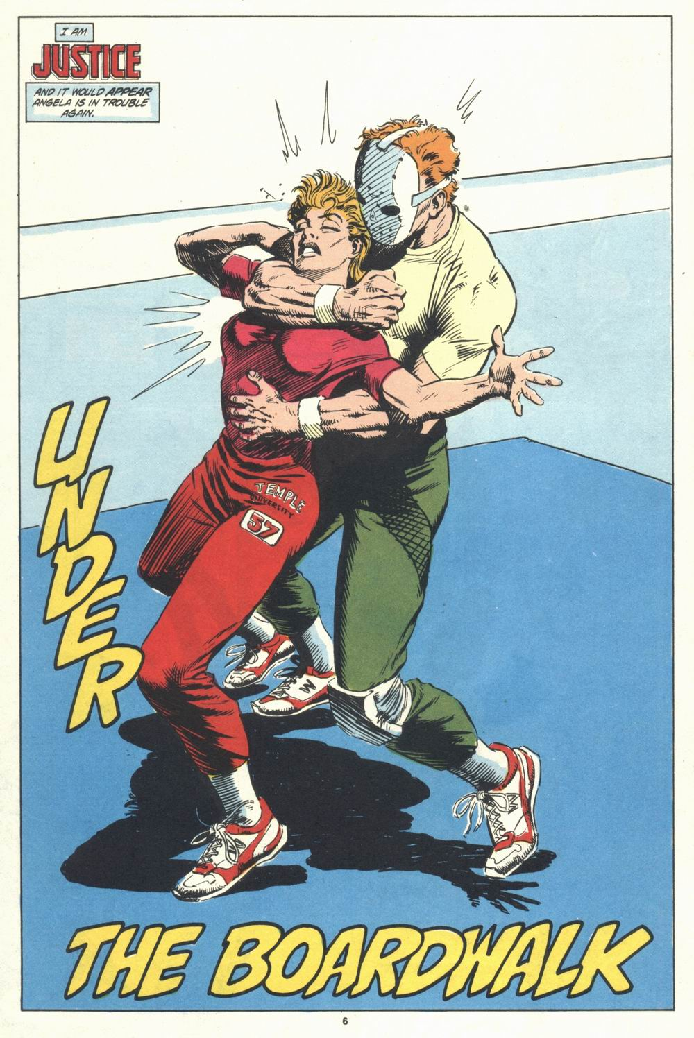Read online Justice (1986) comic -  Issue #31 - 8