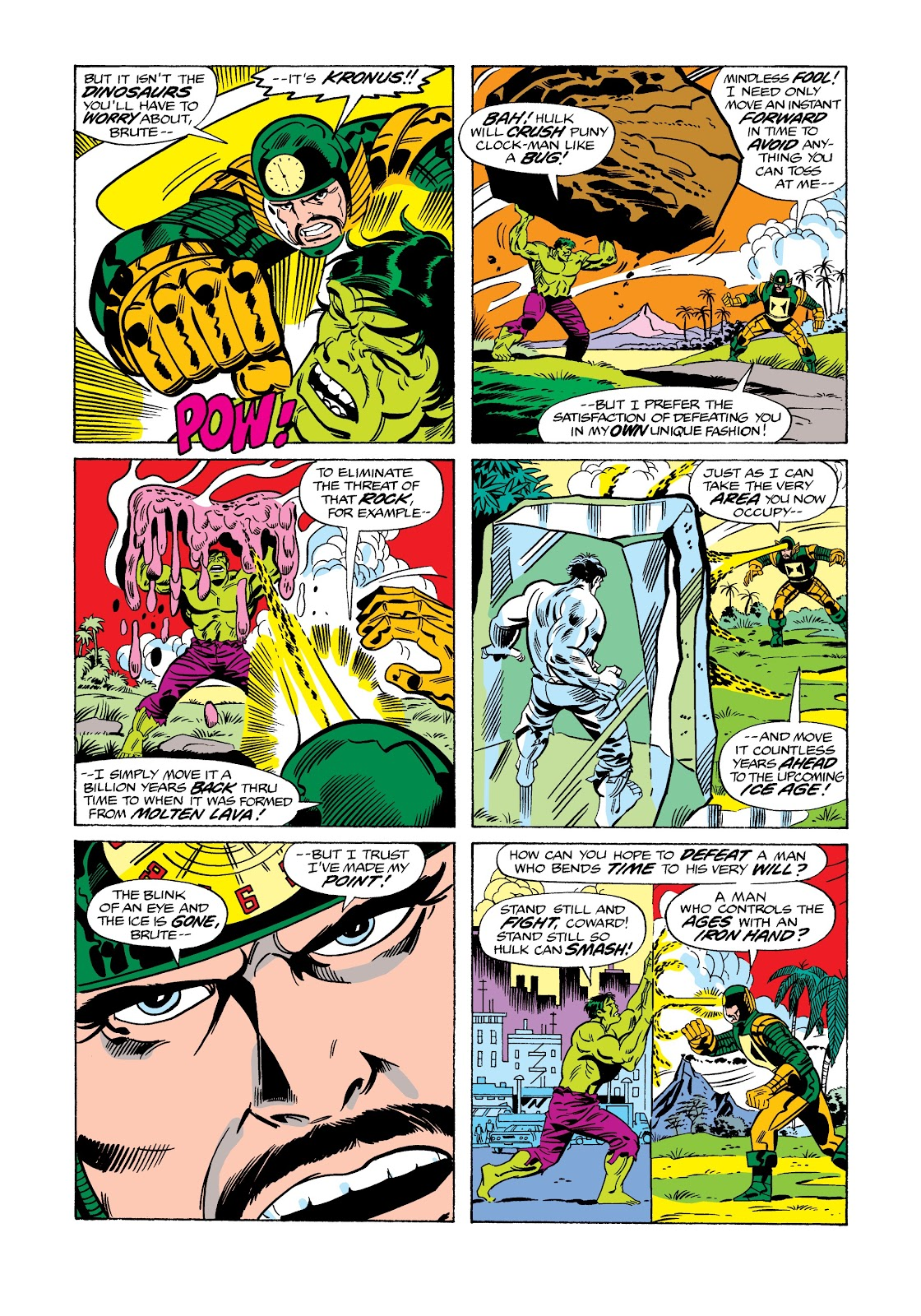 Read online Marvel Masterworks: The Incredible Hulk comic -  Issue # TPB 12 (Part 2) - 88