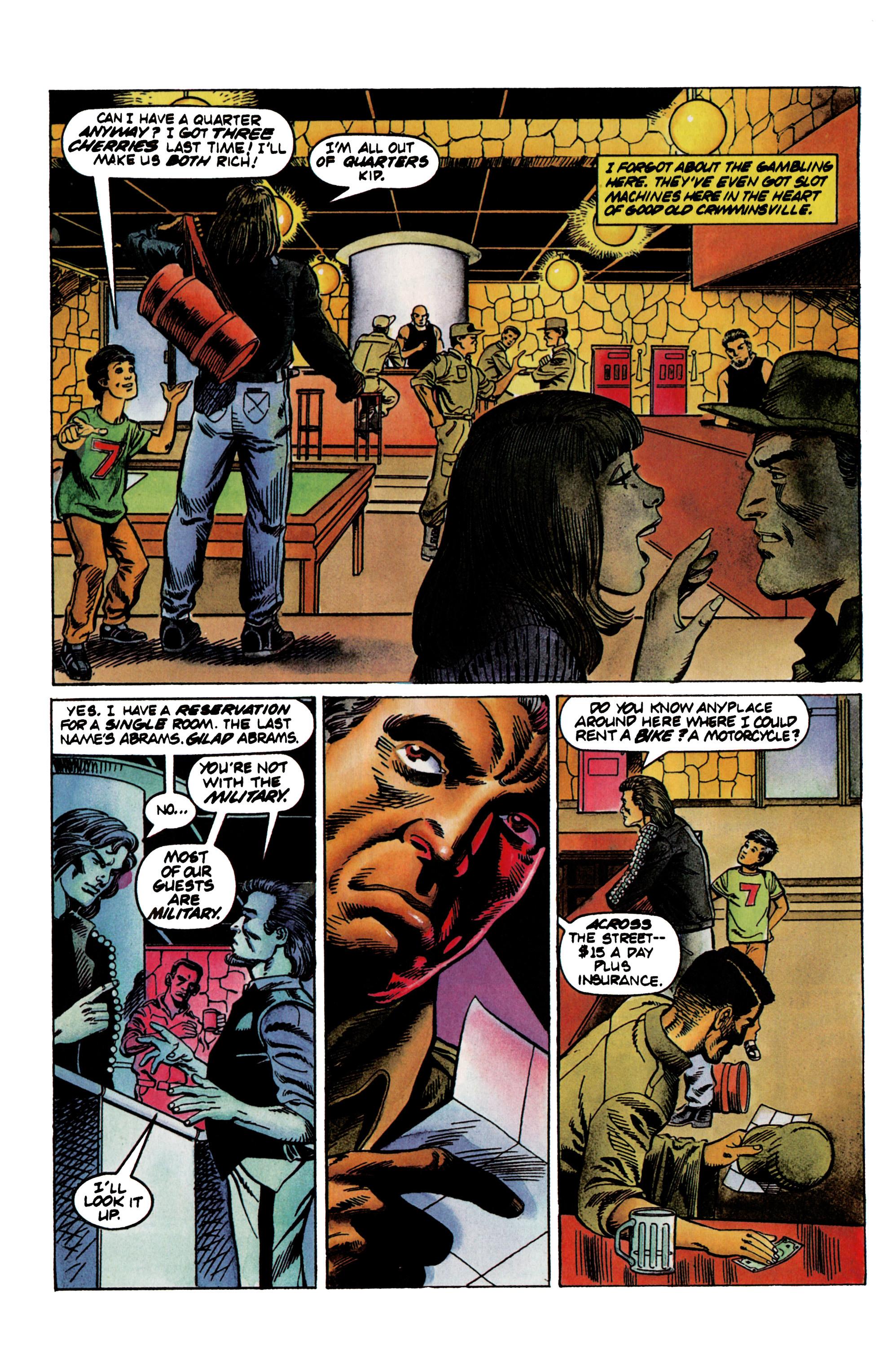 Read online Eternal Warrior (1992) comic -  Issue #21 - 8