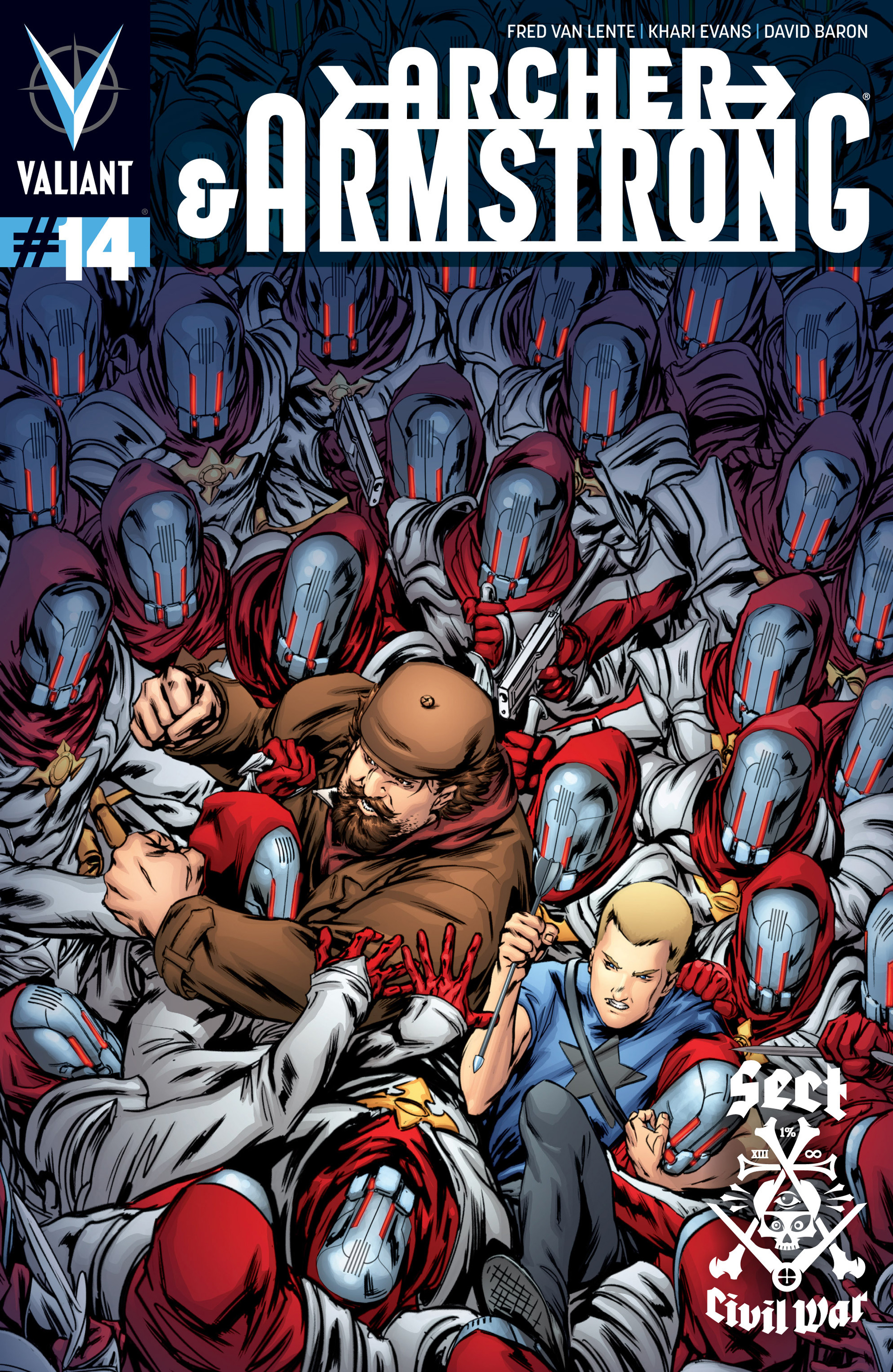 Read online Archer and Armstrong comic -  Issue #14 - 1
