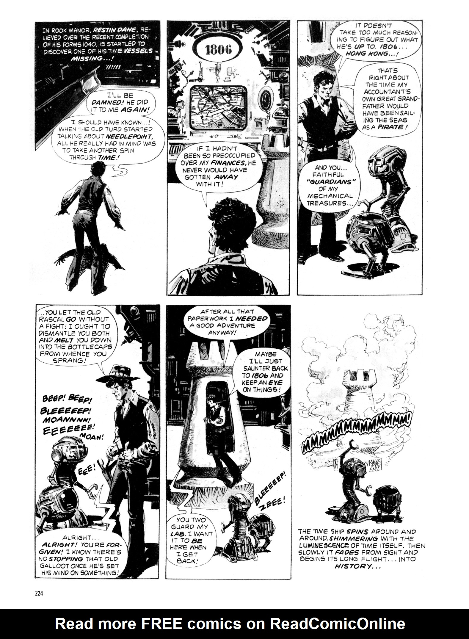 Read online Eerie Archives comic -  Issue # TPB 20 - 224
