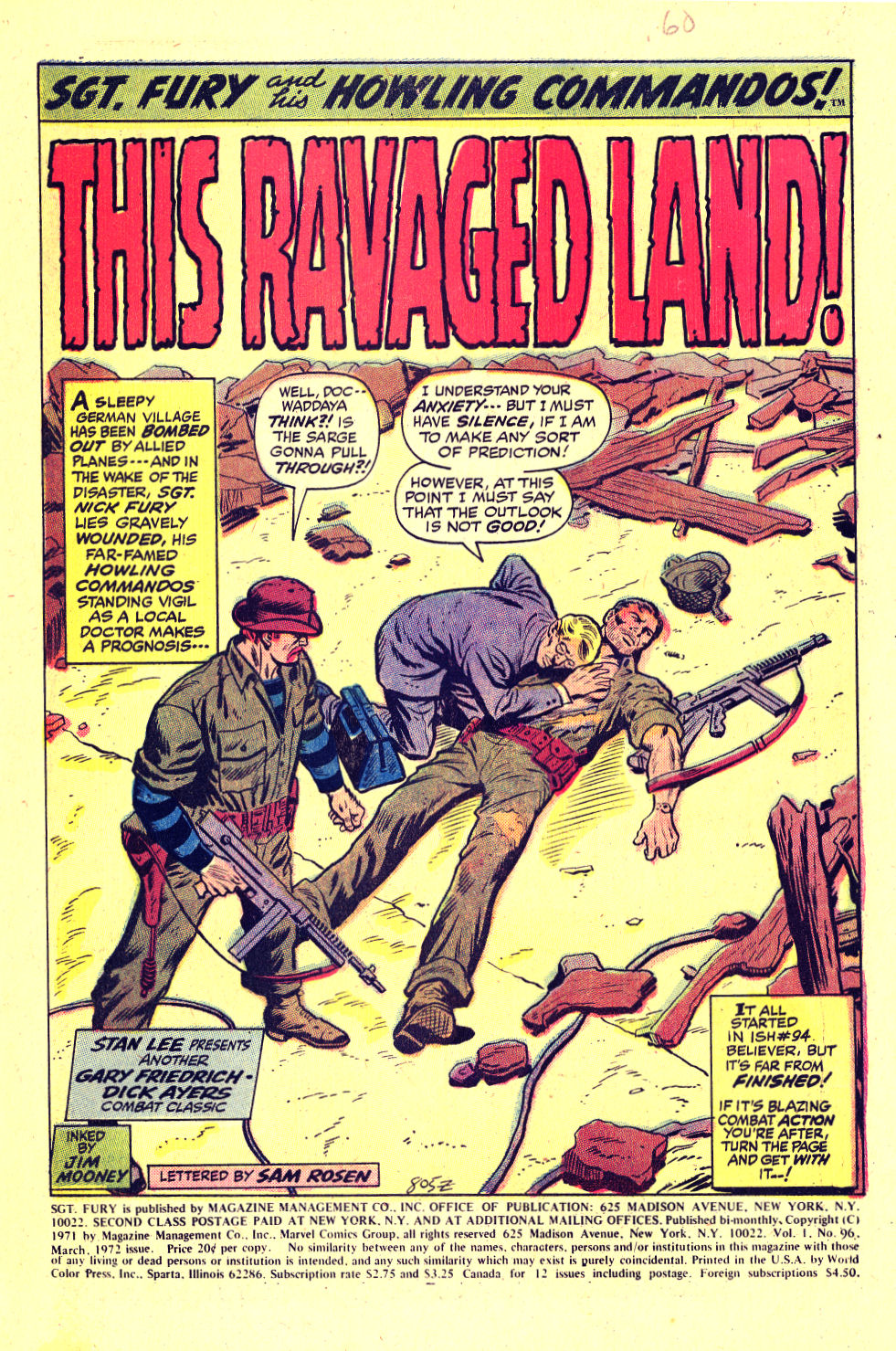 Read online Sgt. Fury comic -  Issue #96 - 3