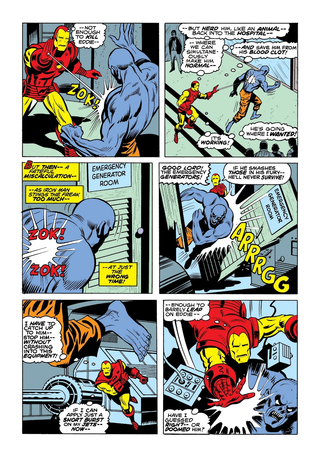 Read online Marvel Masterworks: The Invincible Iron Man comic -  Issue # TPB 9 (Part 3) - 88