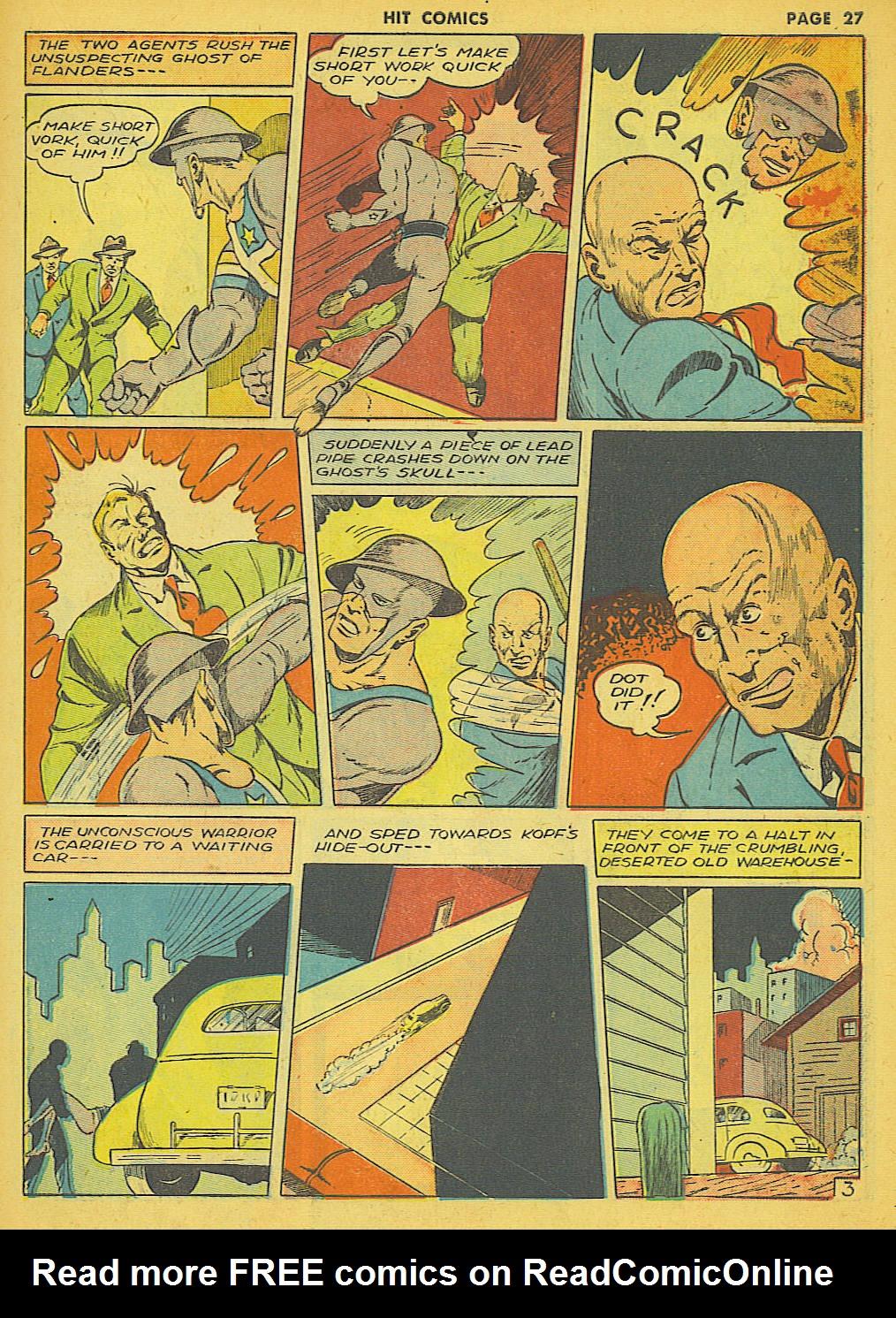 Read online Hit Comics comic -  Issue #21 - 29