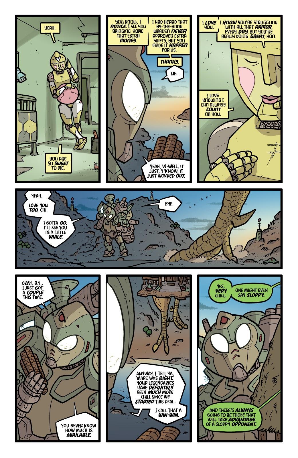 Read online Kaijumax: Season Four comic -  Issue #5 - 5