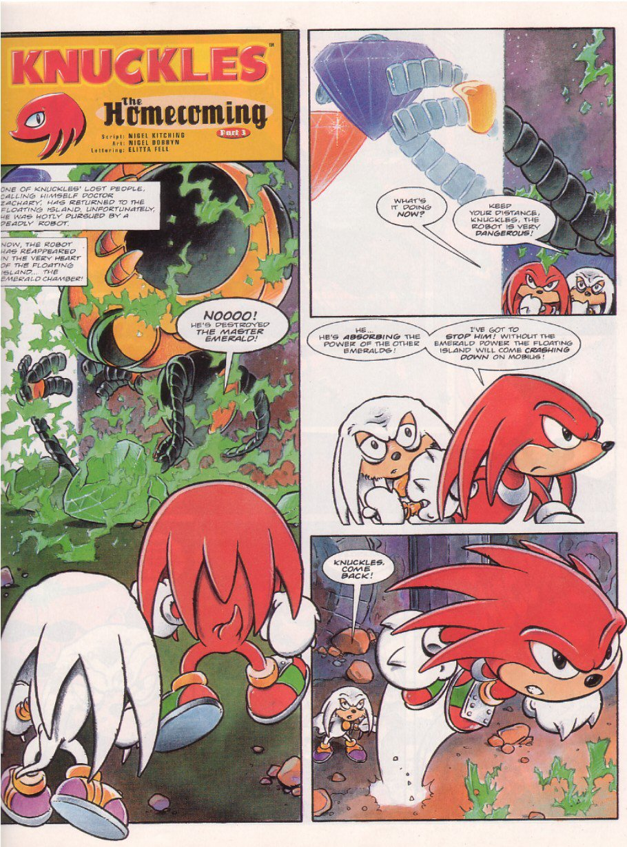 Read online Sonic the Comic comic -  Issue #67 - 17