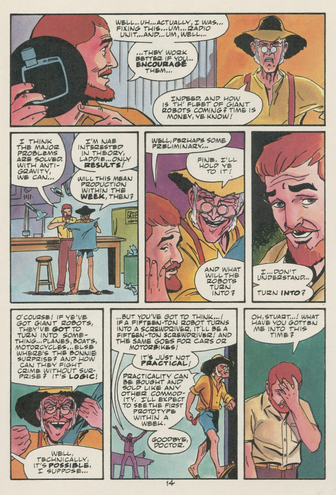Jonny Quest (1986) issue 17 - Page 16