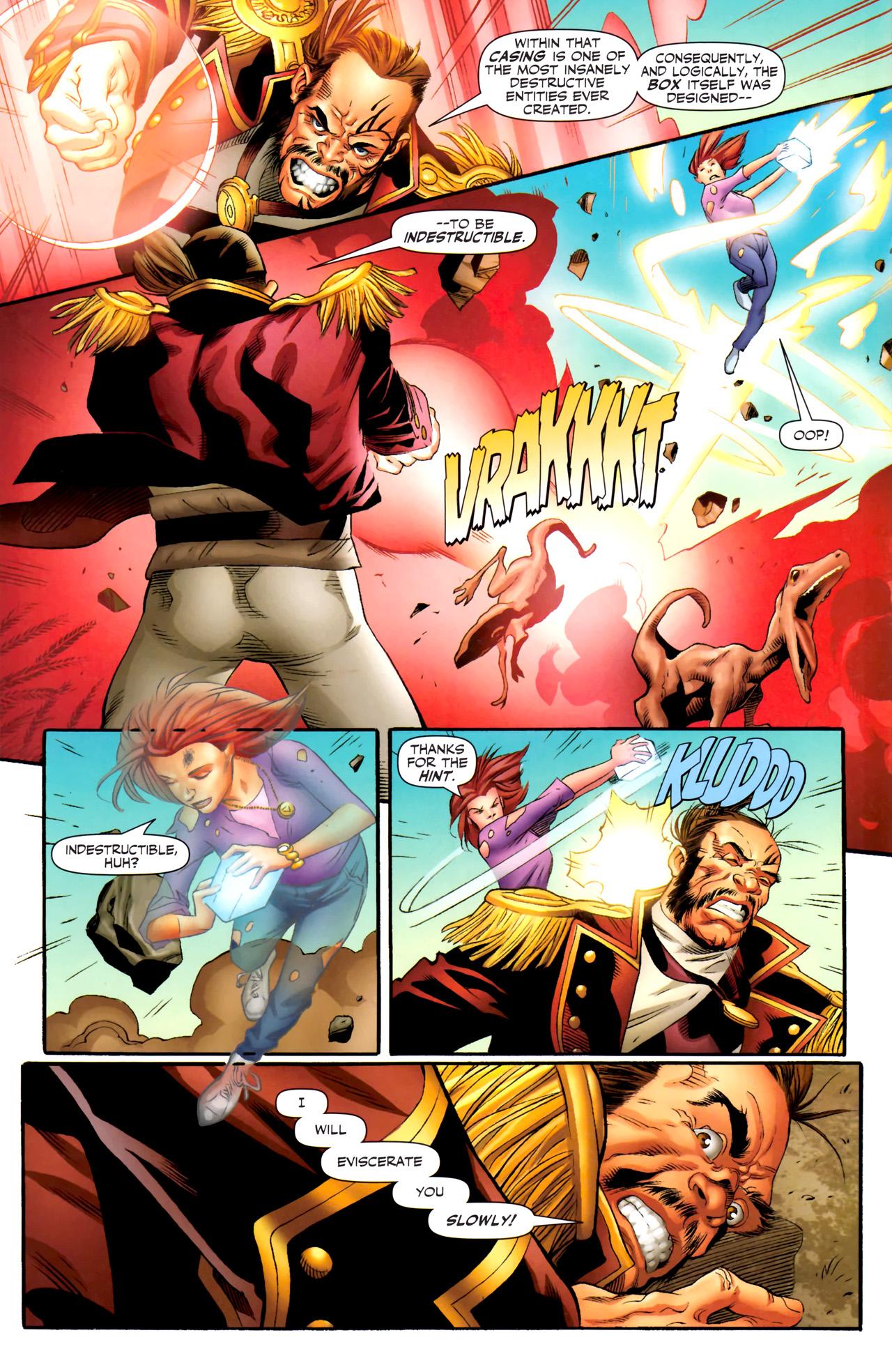 Read online Sigil (2011) comic -  Issue #4 - 7