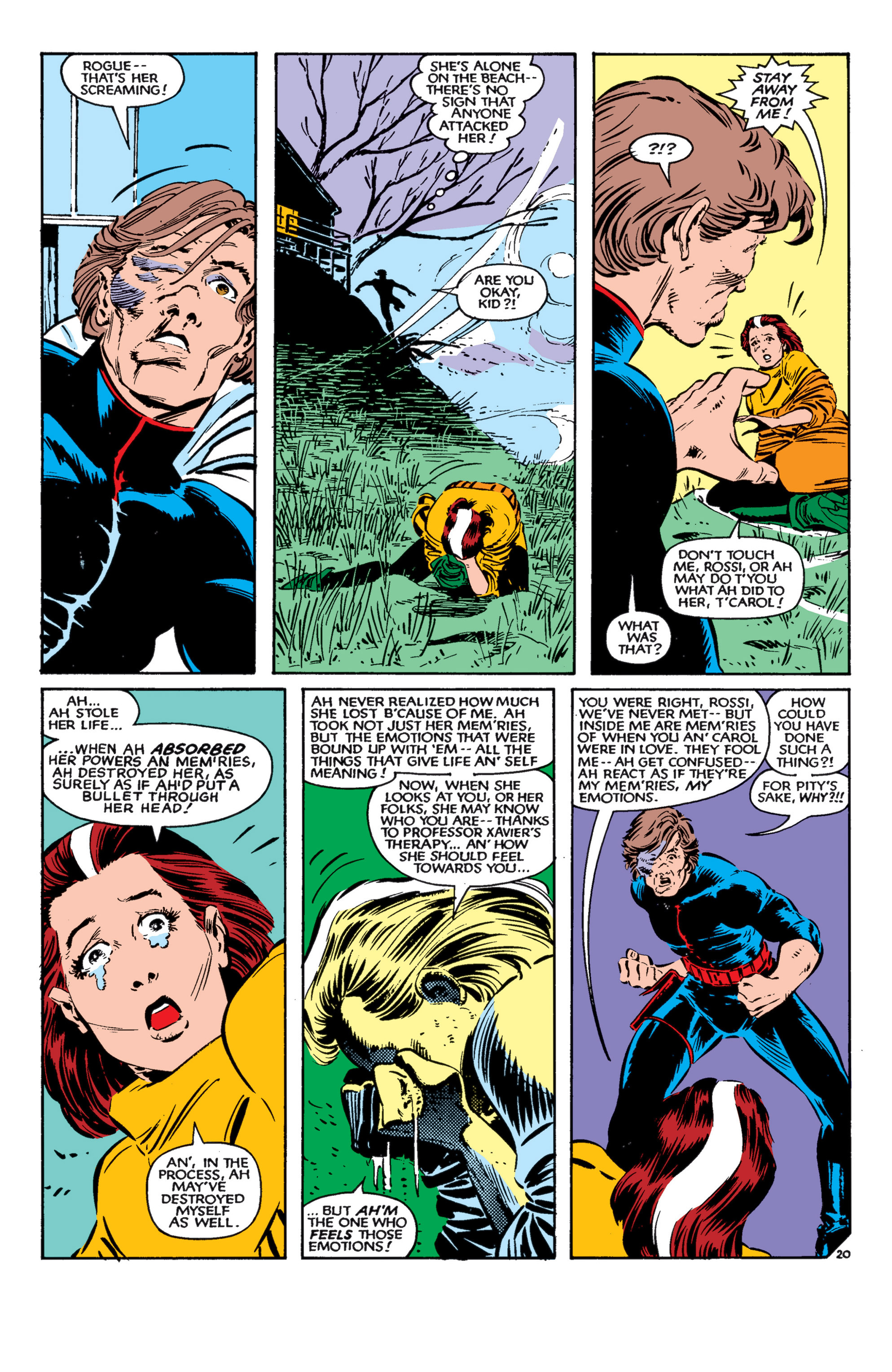 Read online Uncanny X-Men (1963) comic -  Issue #182 - 21