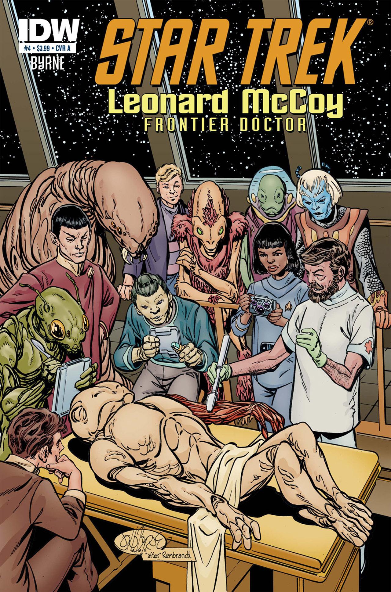 Read online Star Trek: Leonard McCoy, Frontier Doctor comic -  Issue #4 - 1