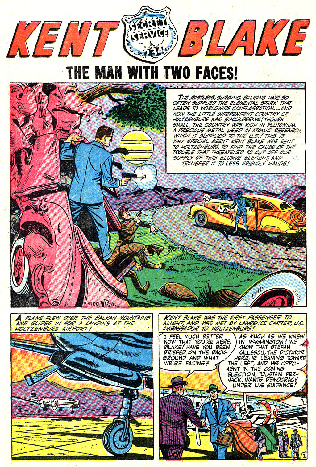 Kent Blake of the Secret Service issue 5 - Page 12