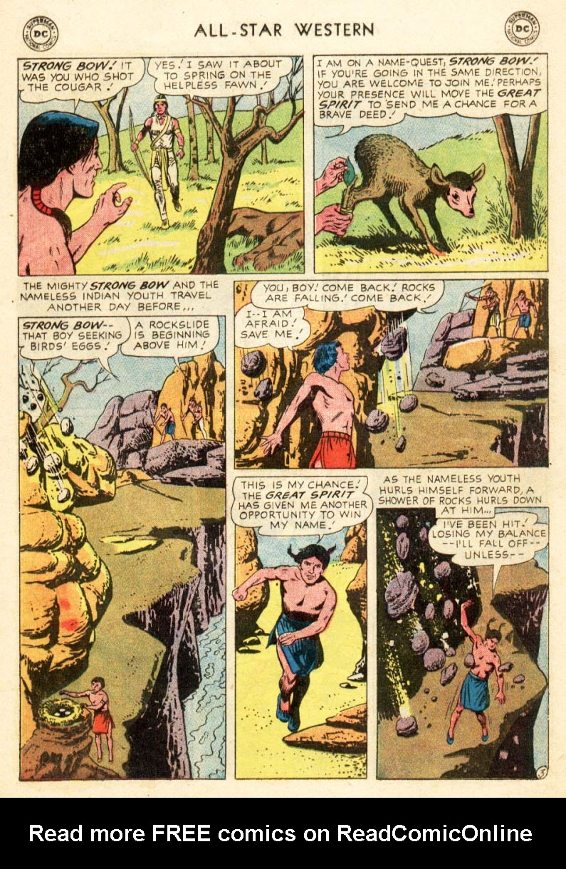Read online All-Star Western (1951) comic -  Issue #97 - 11