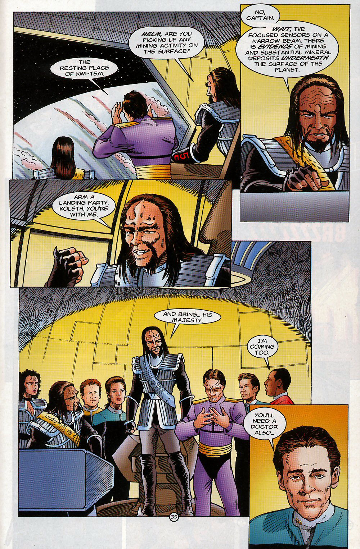 Read online Star Trek: Deep Space Nine - Lightstorm comic -  Issue # Full - 35