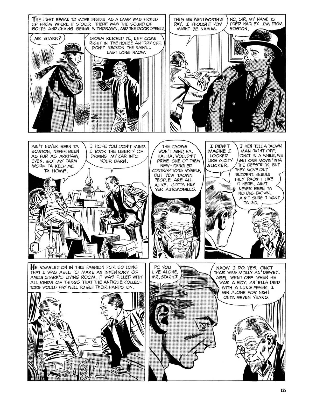 Read online Eerie Archives comic -  Issue # TPB 3 - 126