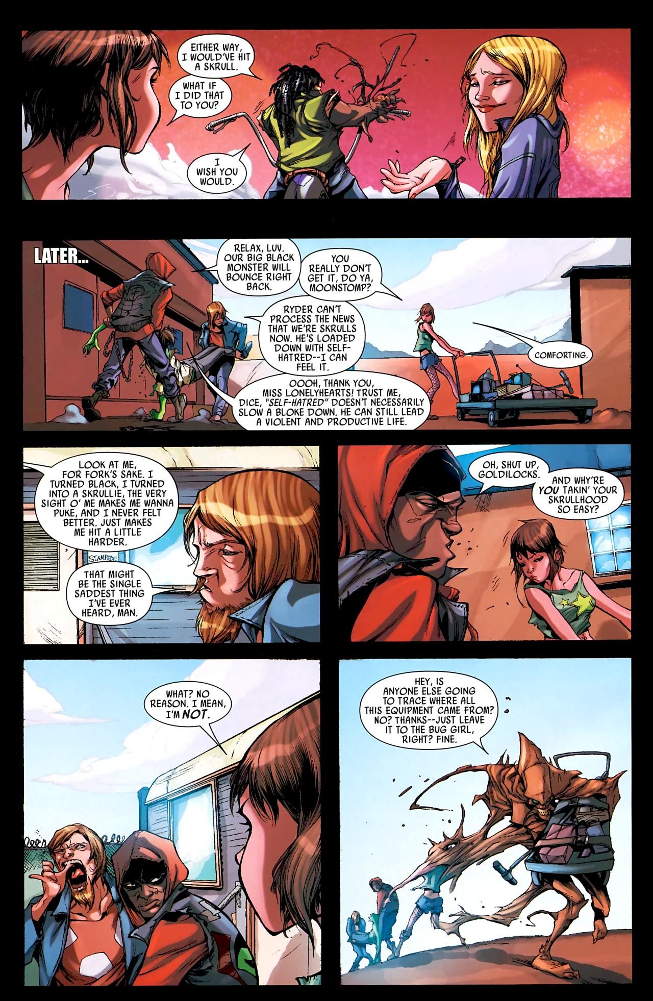 Read online Skrull Kill Krew (2009) comic -  Issue #4 - 9