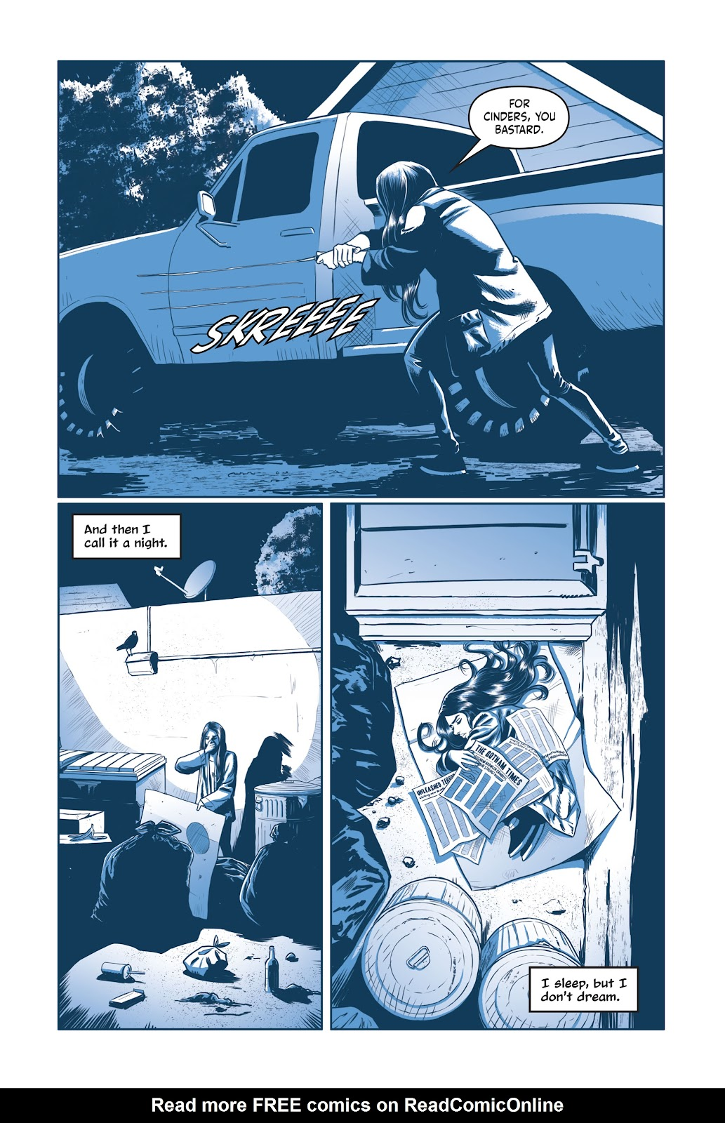 Read online Under the Moon: A Catwoman Tale comic -  Issue # TPB (Part 1) - 71