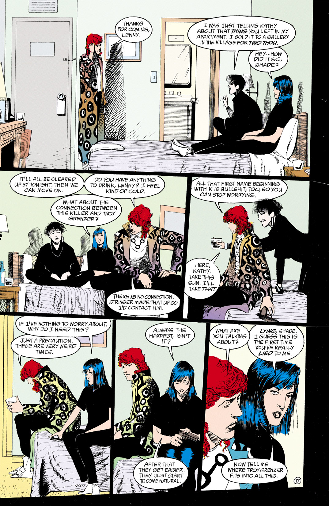 Read online Shade, the Changing Man comic -  Issue #11 - 18