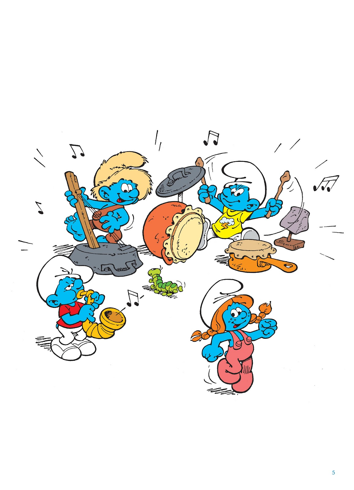 Read online The Smurfs comic -  Issue #15 - 6