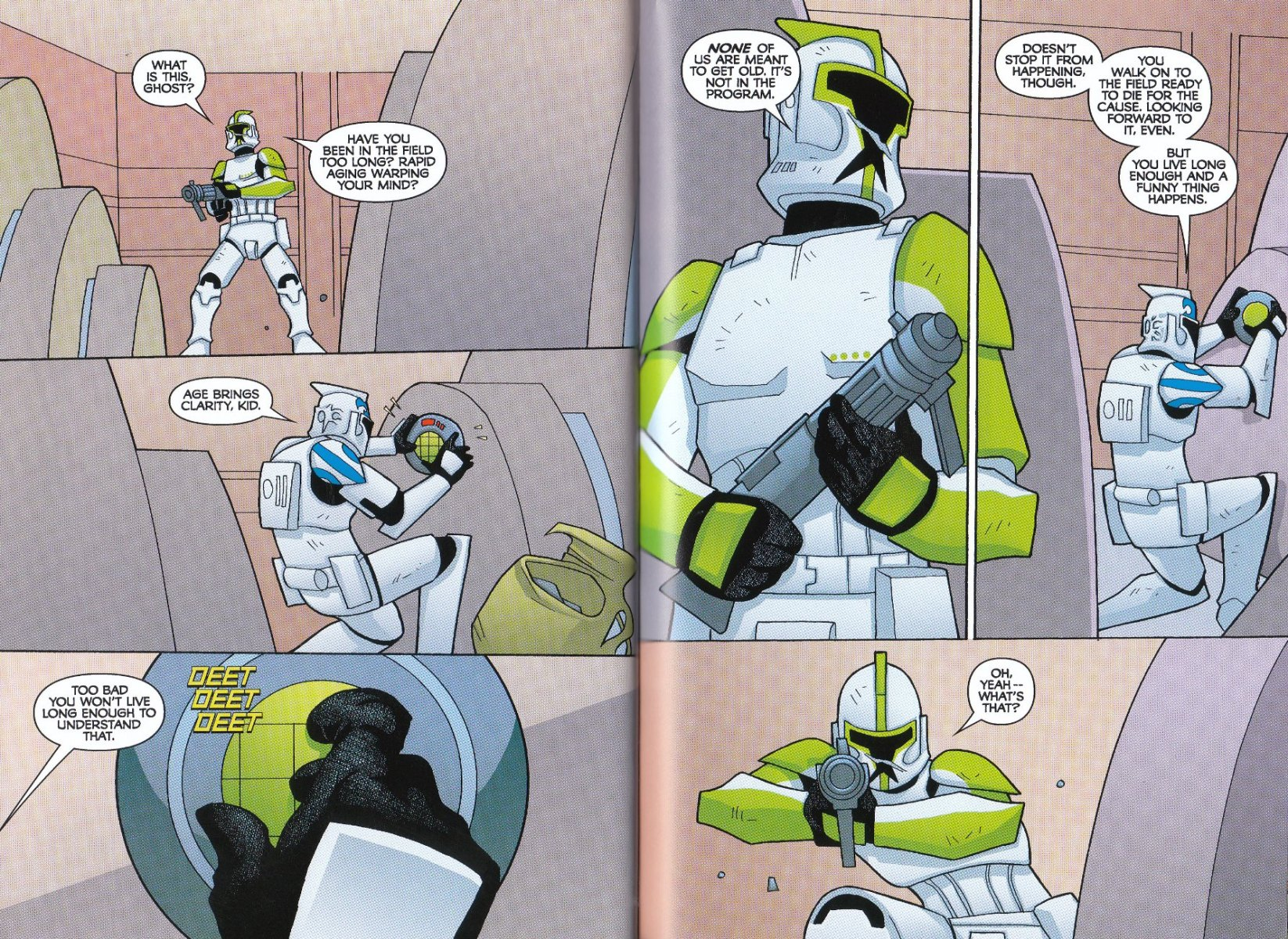 Read online Star Wars: The Clone Wars - The Enemy Within comic -  Issue # Full - 29