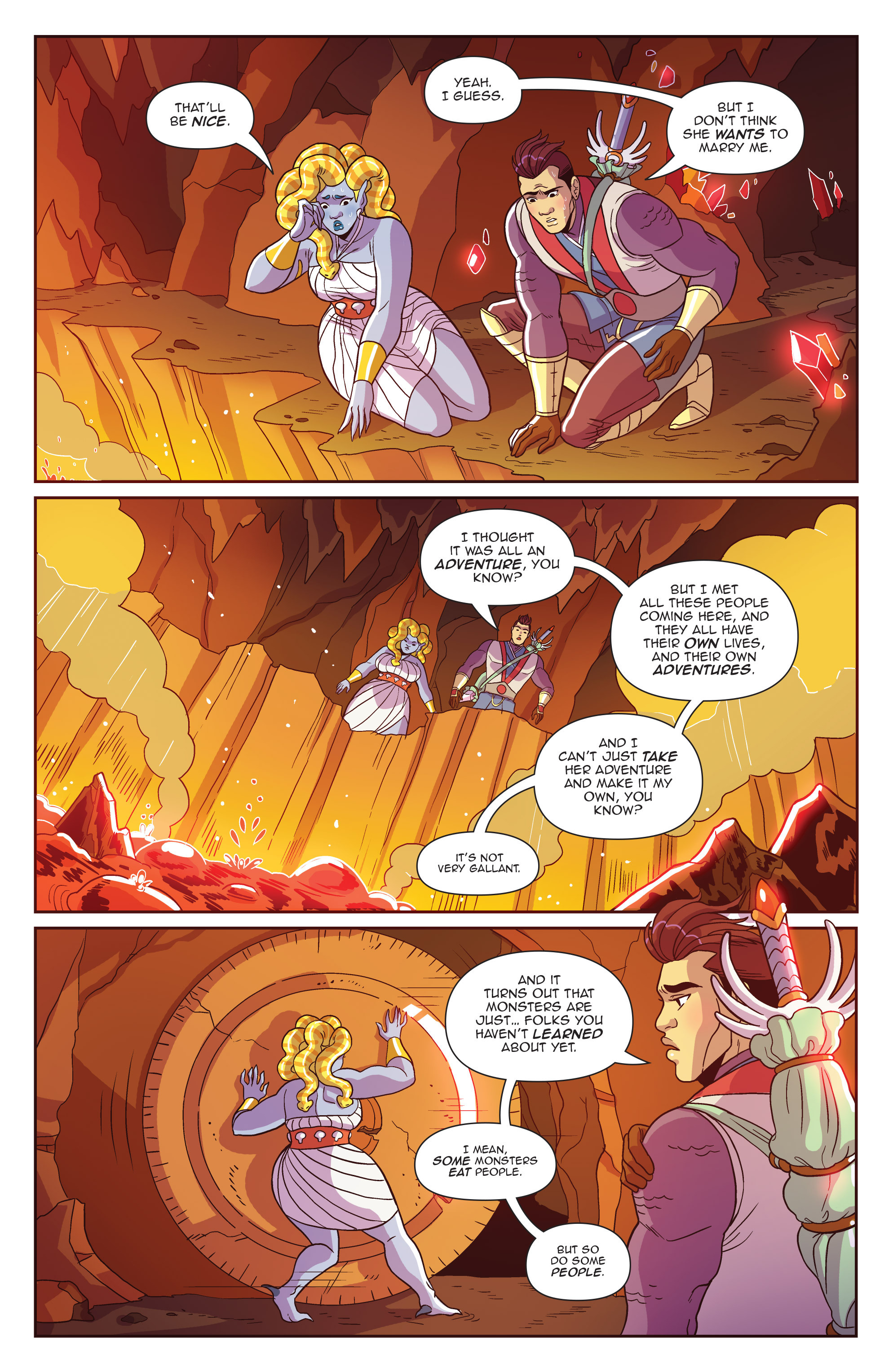 Read online Another Castle comic -  Issue #4 - 16