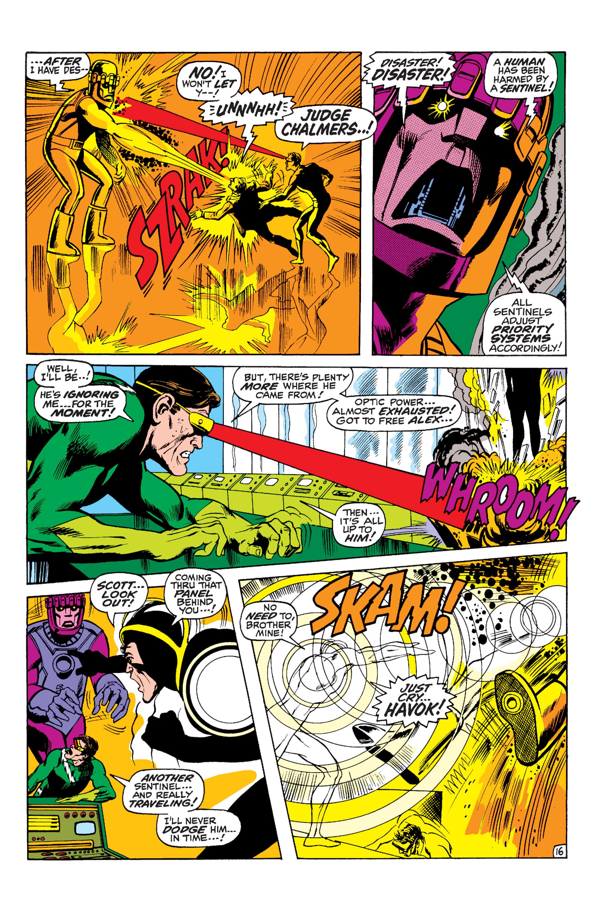 Read online Uncanny X-Men (1963) comic -  Issue #59 - 17