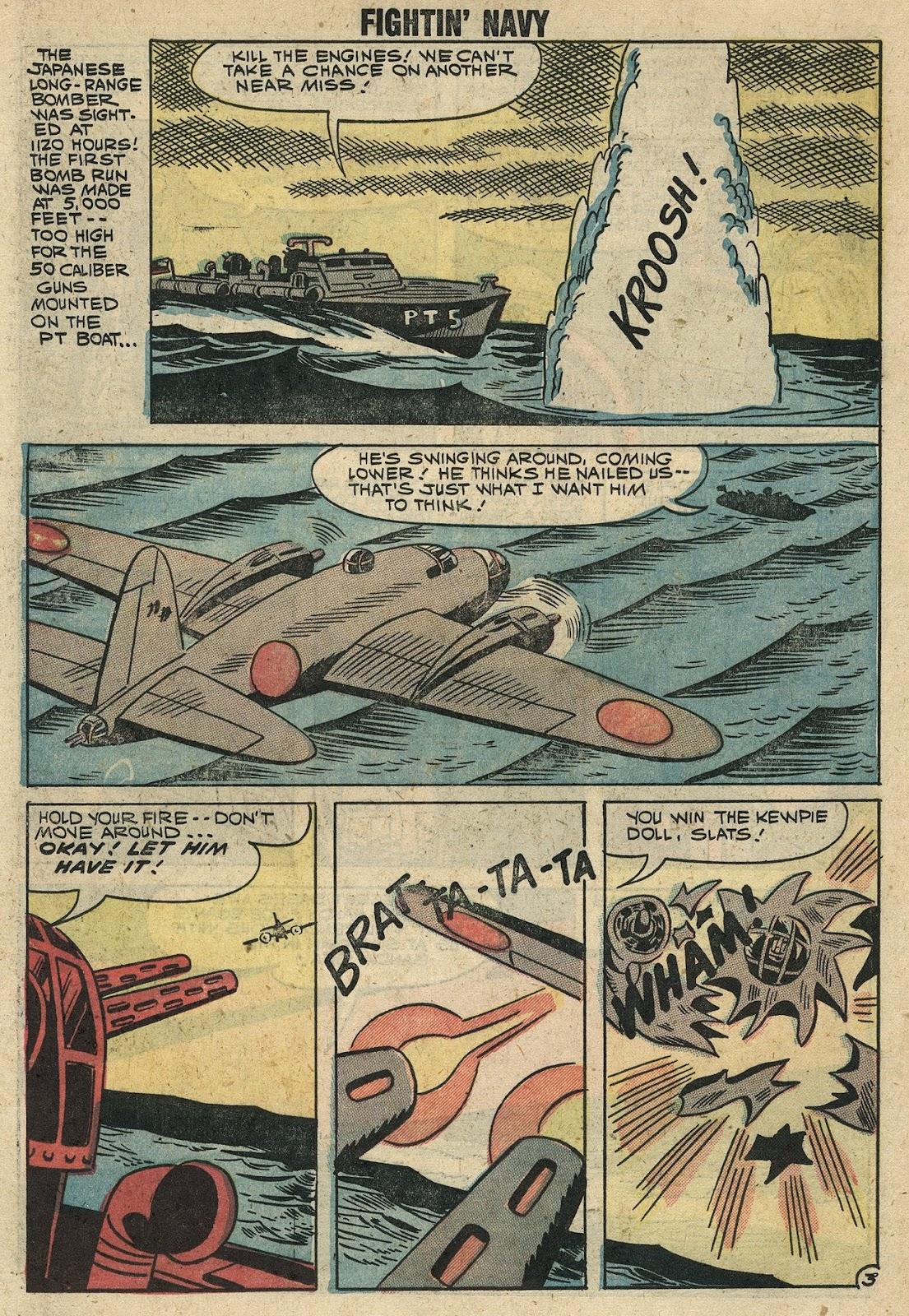 Read online Fightin' Navy comic -  Issue #86 - 17