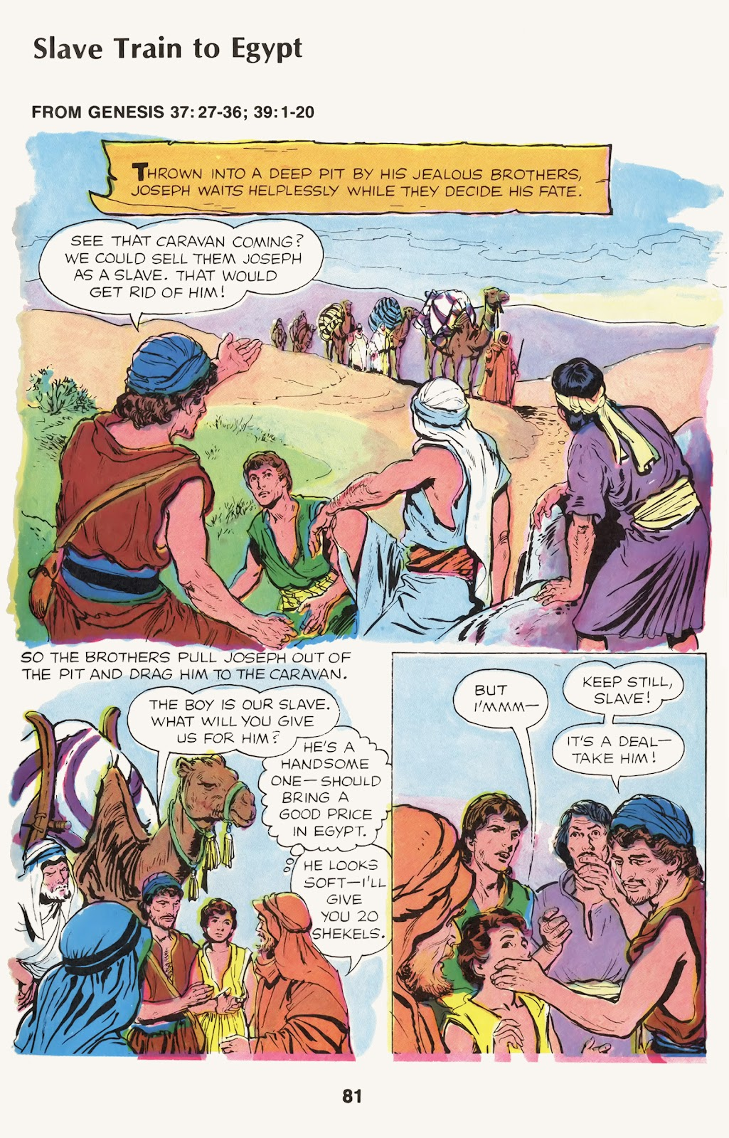 The Picture Bible issue TPB (Part 1) - Page 83