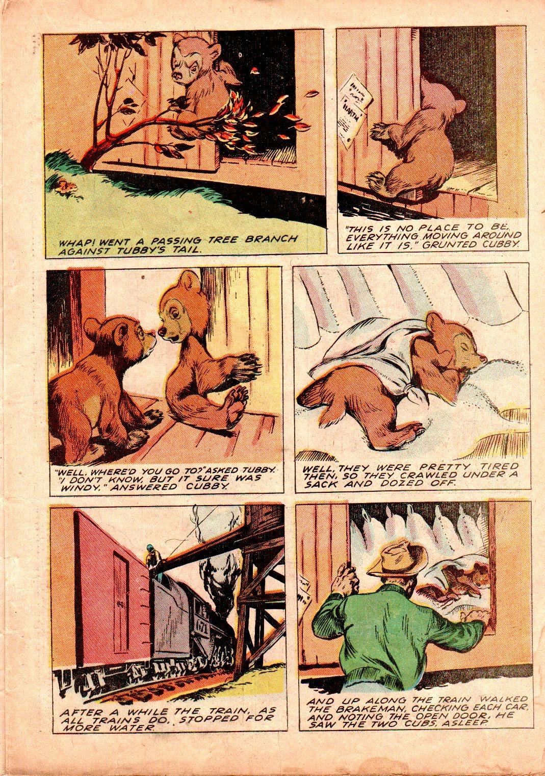Read online Animal Comics comic -  Issue #19 - 23