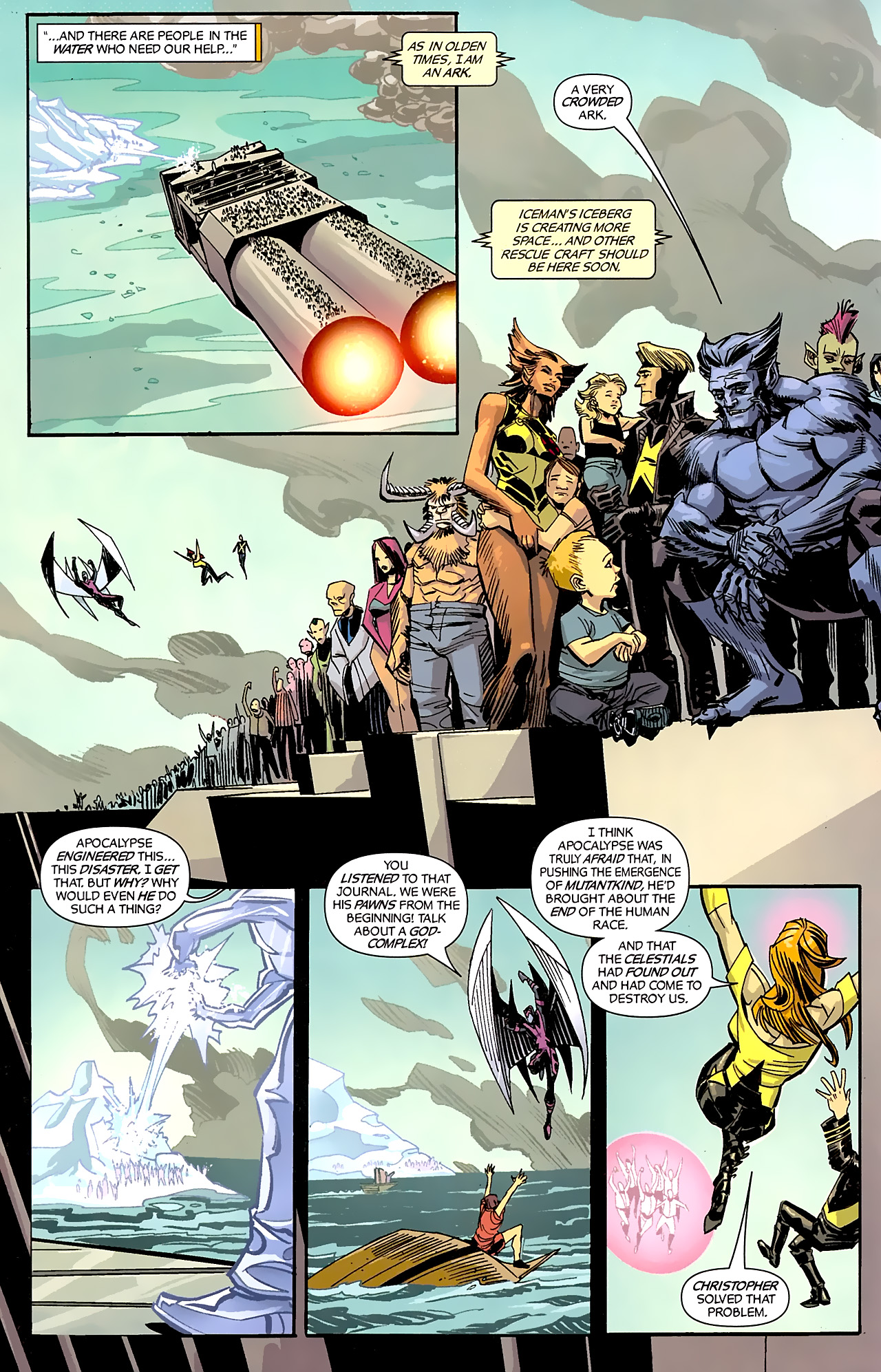 Read online X-Factor Forever comic -  Issue #5 - 18