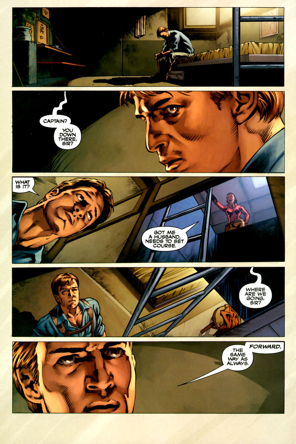 Read online Serenity comic -  Issue #3 - 24