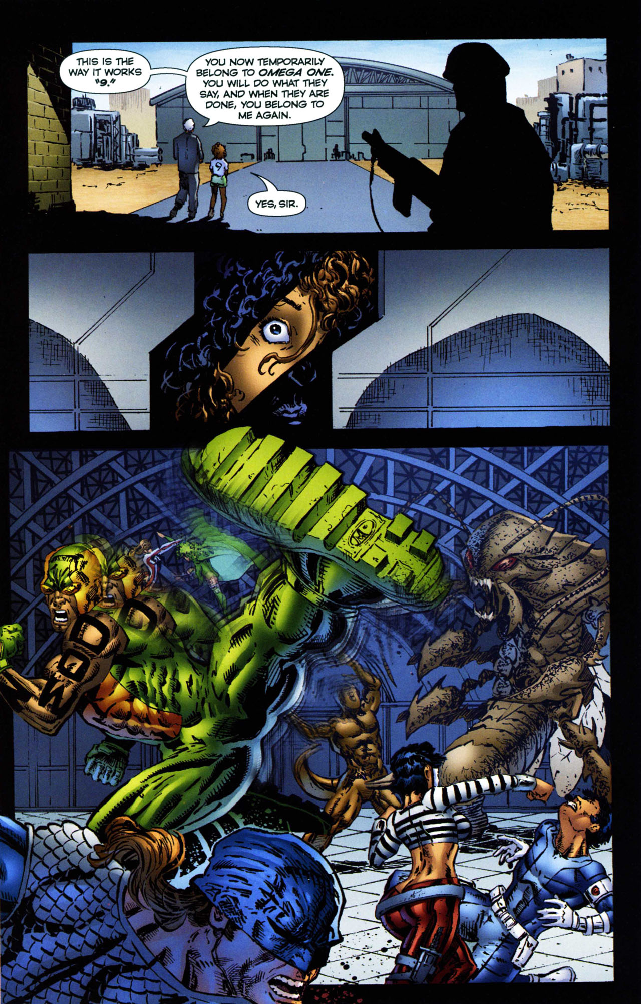 Read online Ant comic -  Issue #11 - 12