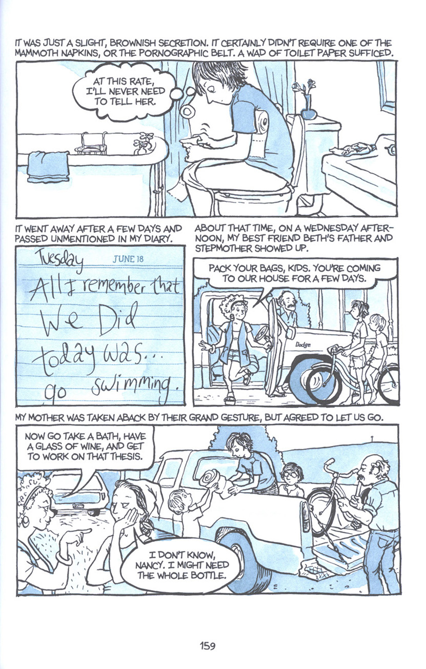 Read online Fun Home: A Family Tragicomic comic -  Issue # TPB - 165