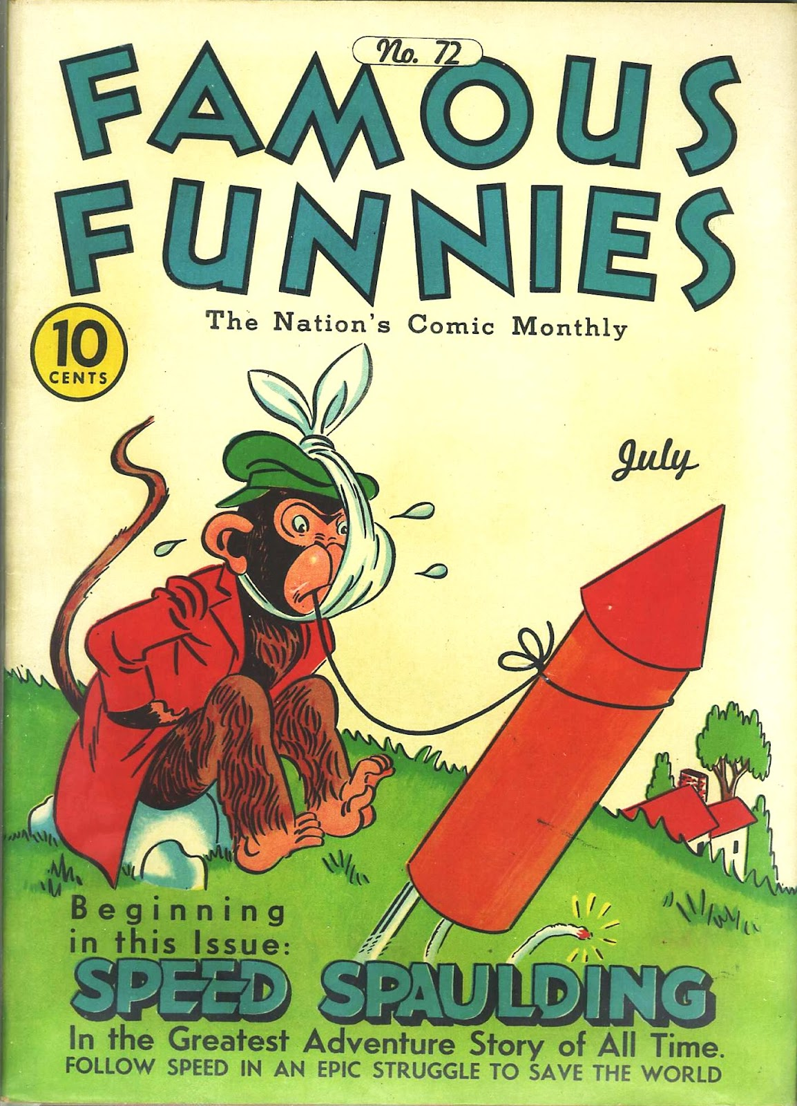 Read online Famous Funnies comic -  Issue #72 - 1