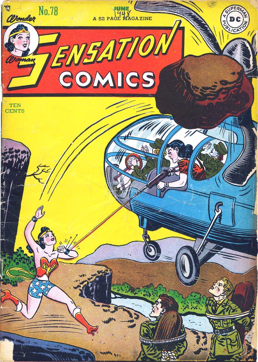 Read online Sensation (Mystery) Comics comic -  Issue #78 - 1