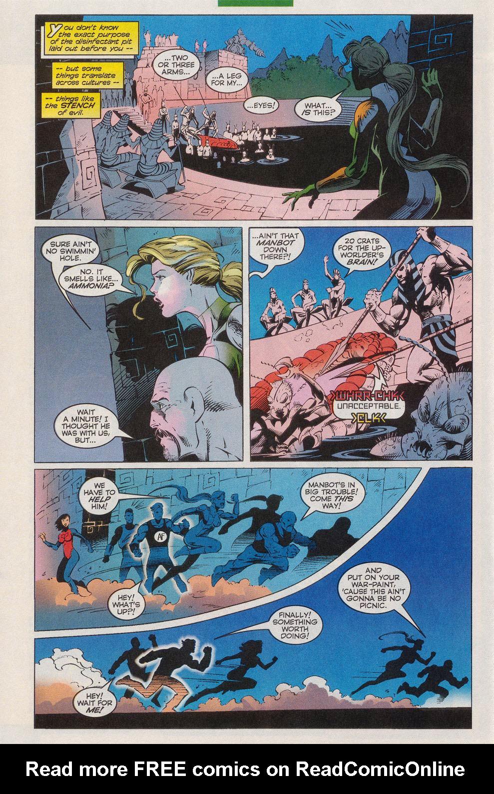 Read online Alpha Flight (1997) comic -  Issue #10 - 20