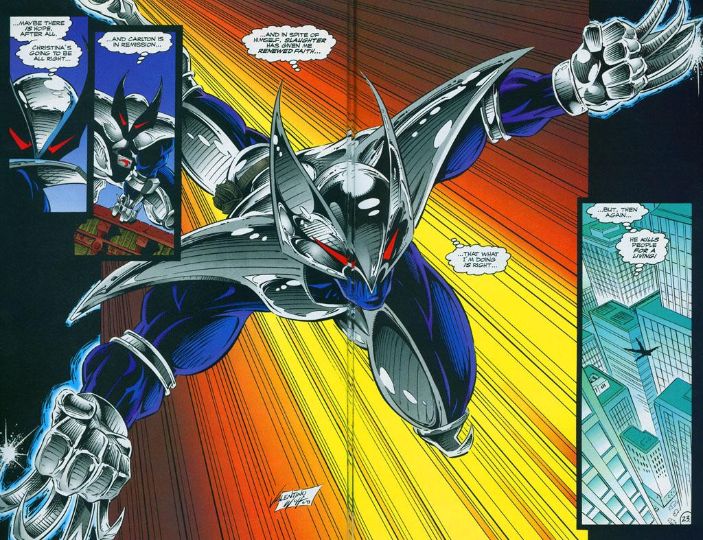 Read online ShadowHawk comic -  Issue #7 - 30