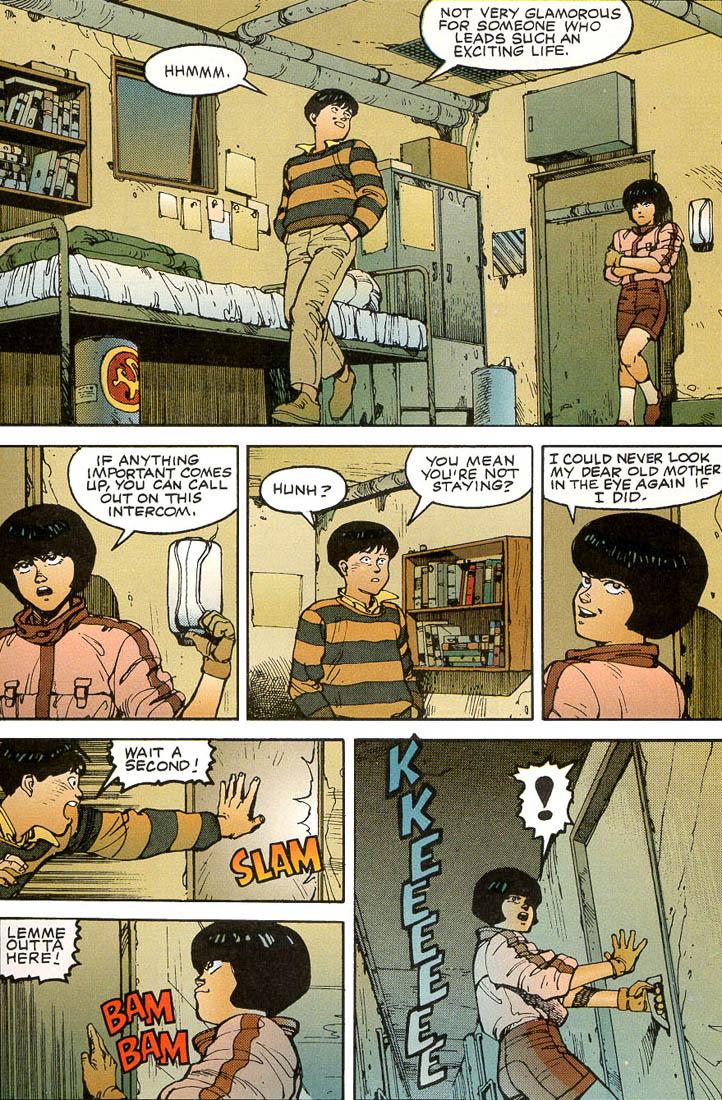 Read online Akira comic -  Issue #3 - 41