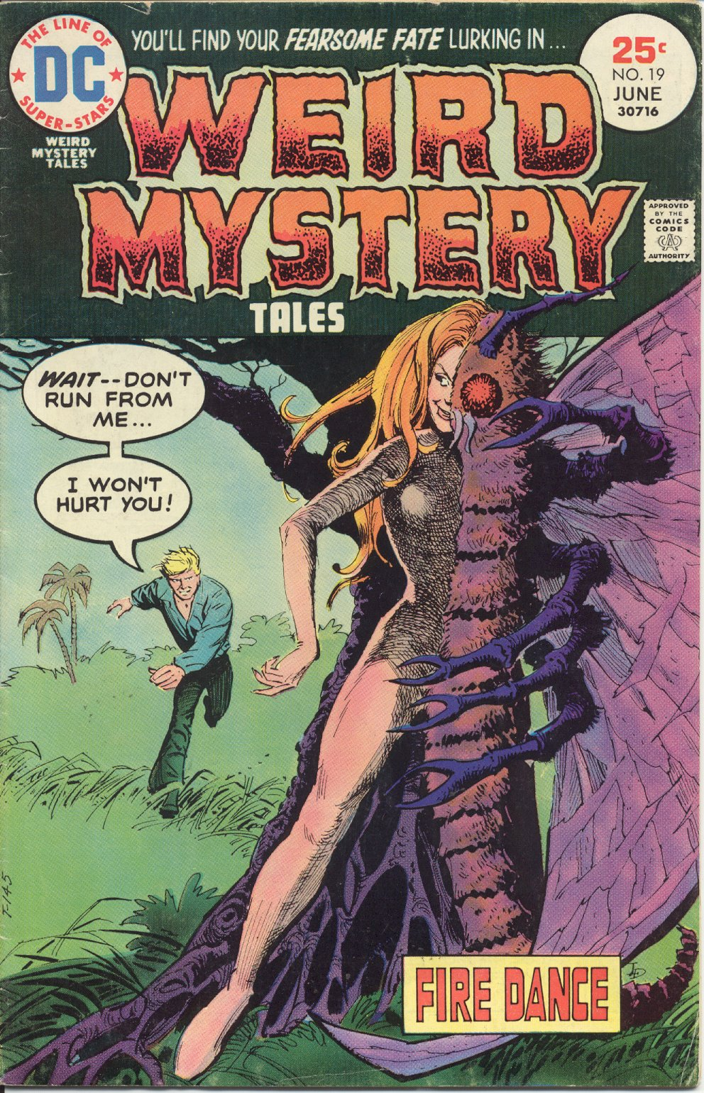 Weird Mystery Tales issue 19 - Page 1