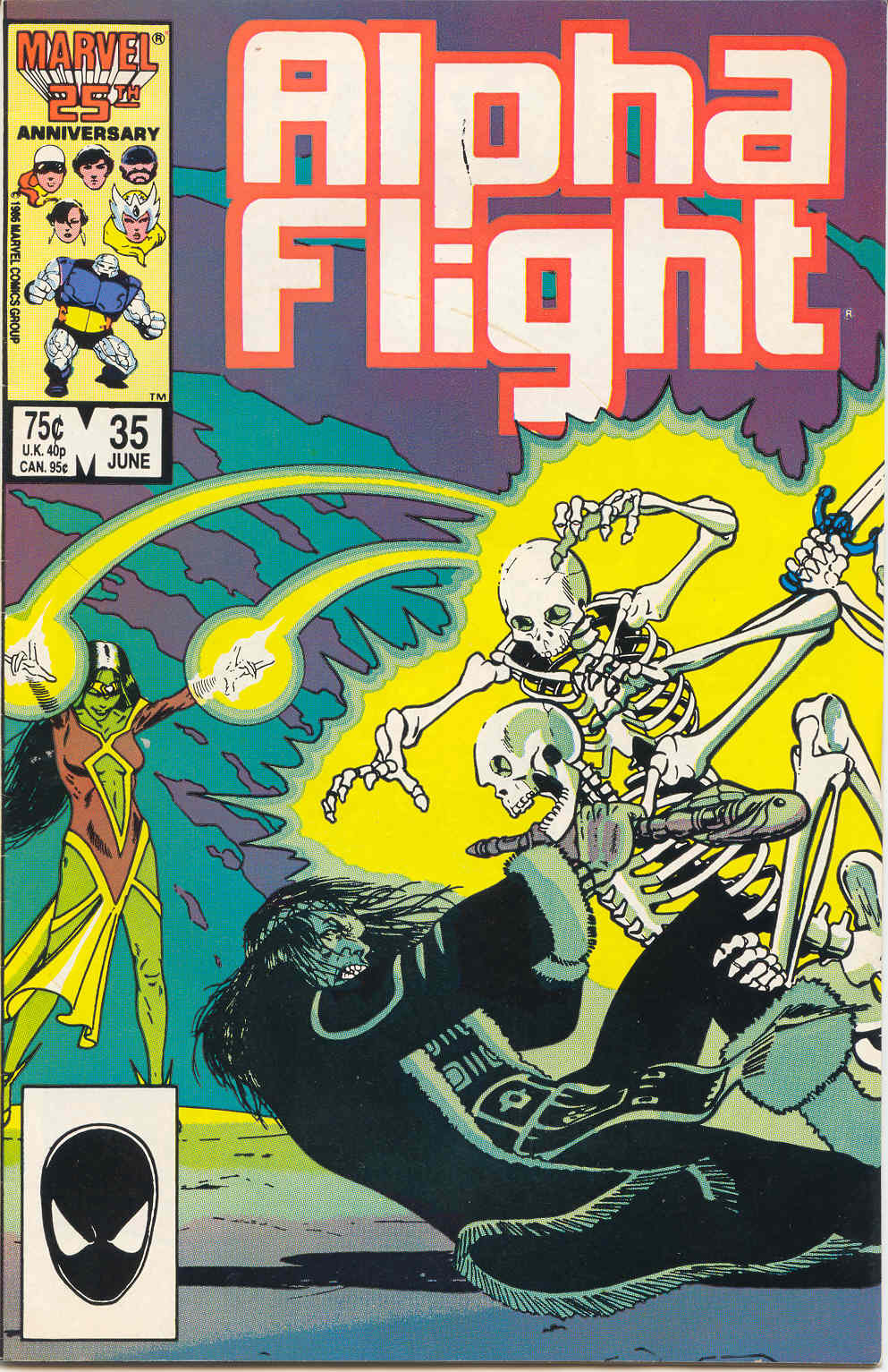 Read online Alpha Flight (1983) comic -  Issue #35 - 1