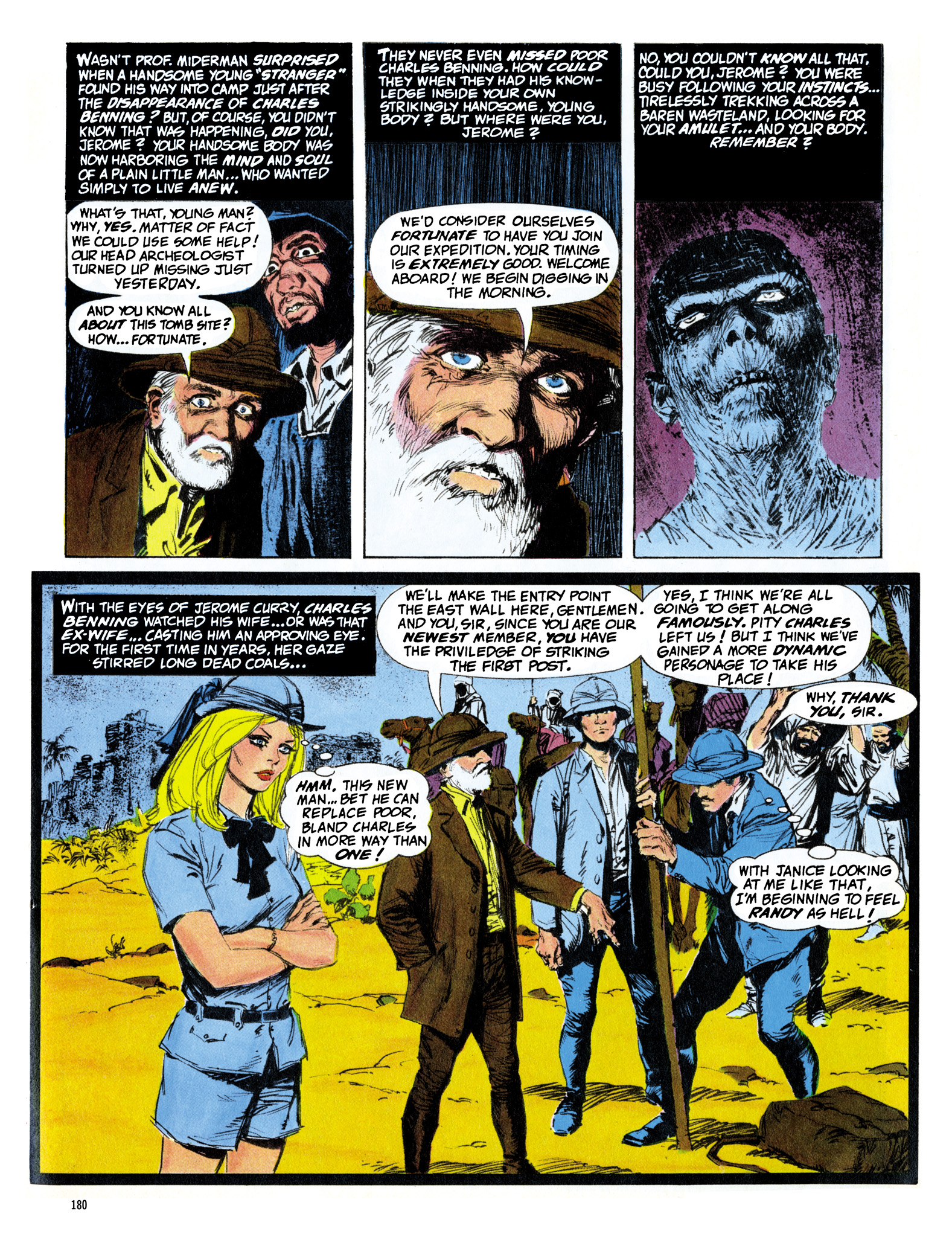 Read online Eerie Archives comic -  Issue # TPB 16 - 181