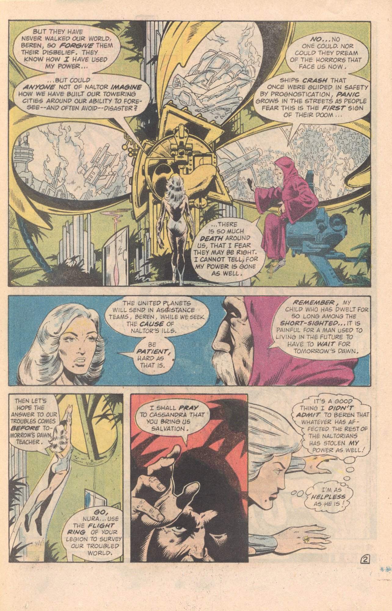 Legion of Super-Heroes (1980) 285 Page 21