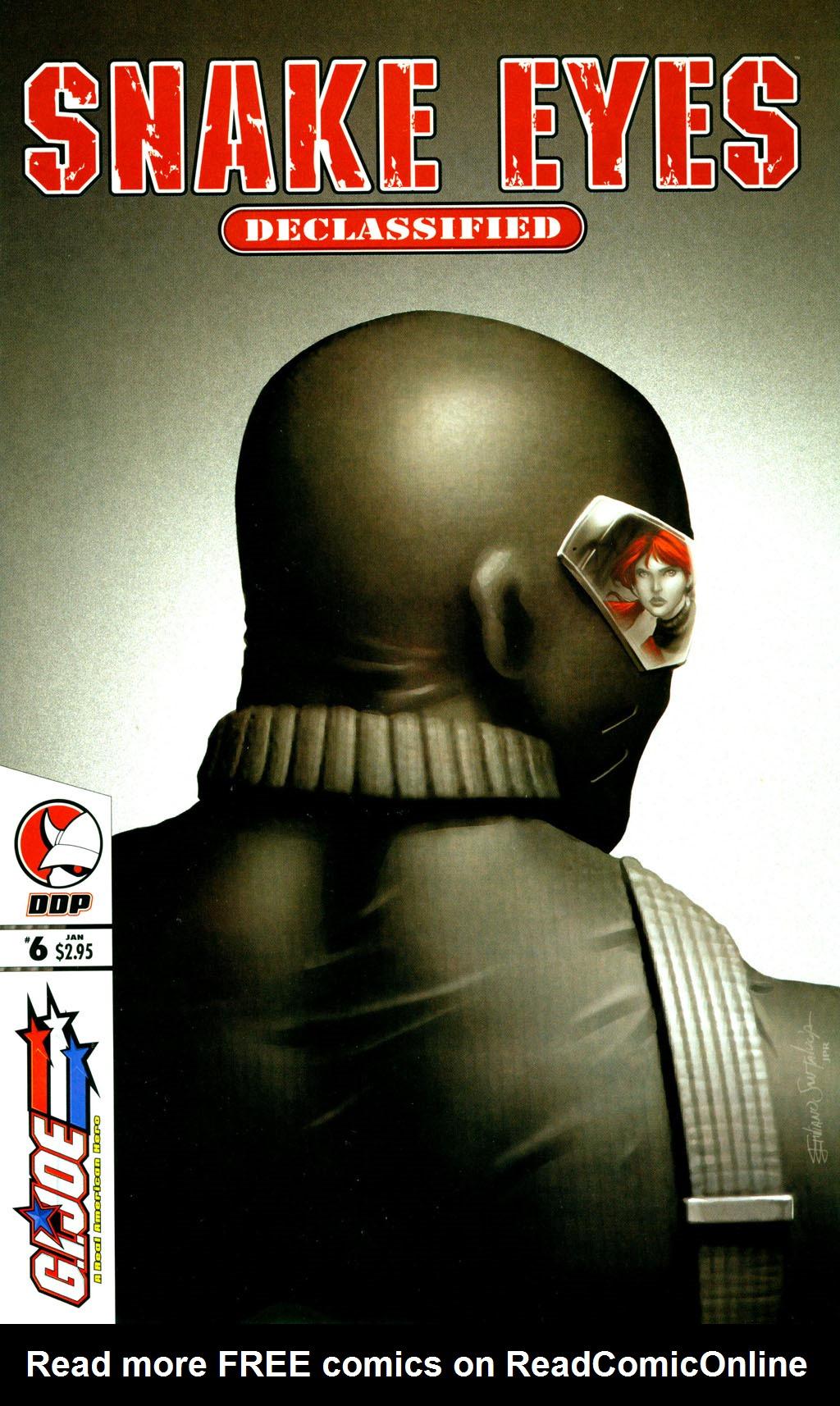 Read online Snake Eyes: Declassified comic -  Issue #6 - 1
