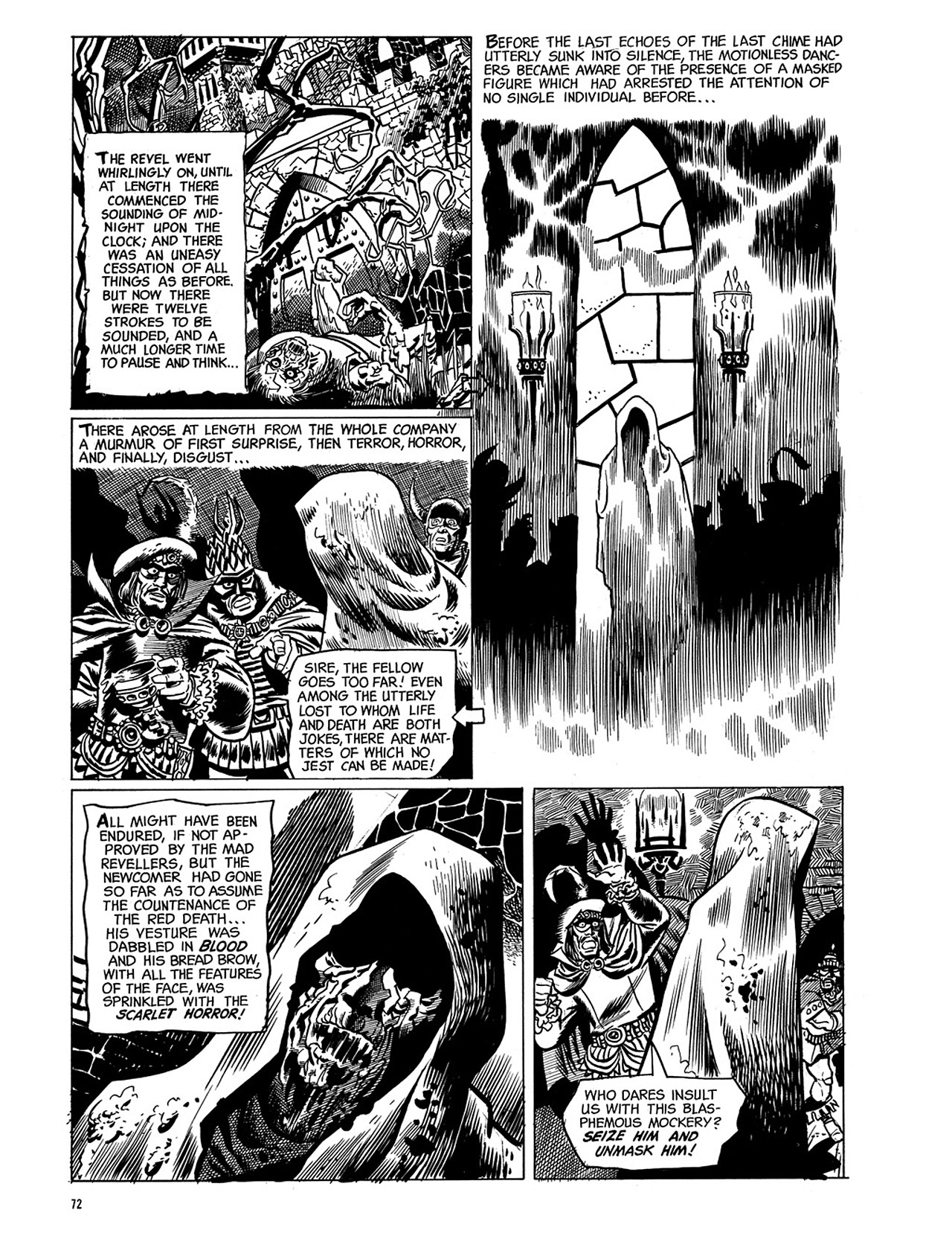 Read online Eerie Archives comic -  Issue # TPB 3 - 73