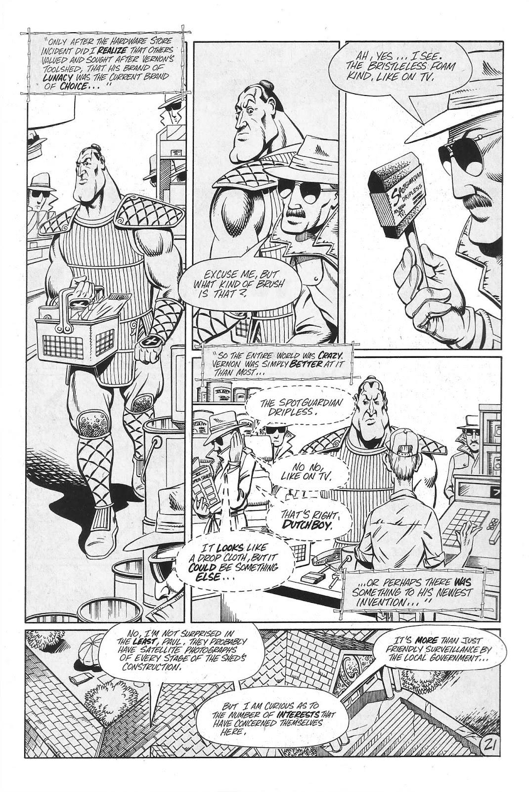 Read online Paul the Samurai (1991) comic -  Issue # TPB - 87
