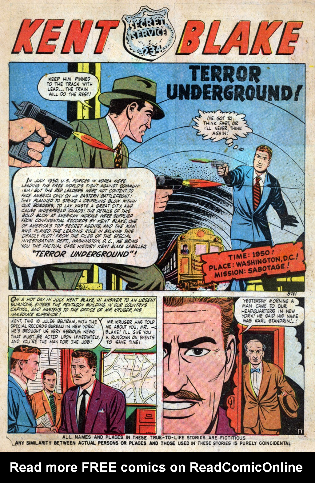 Kent Blake of the Secret Service issue 4 - Page 3