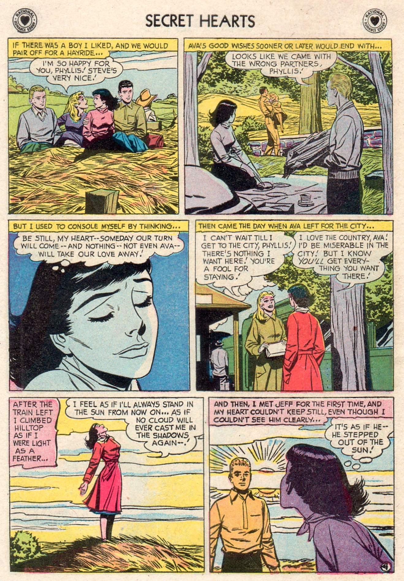 Read online Secret Hearts comic -  Issue #46 - 30