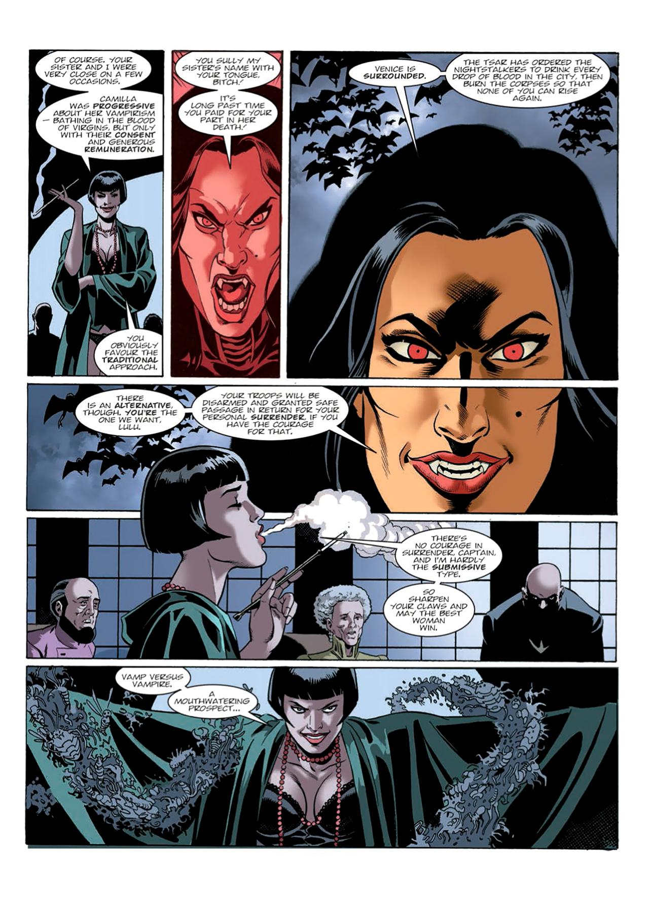 Read online Nikolai Dante comic -  Issue # TPB 9 - 168