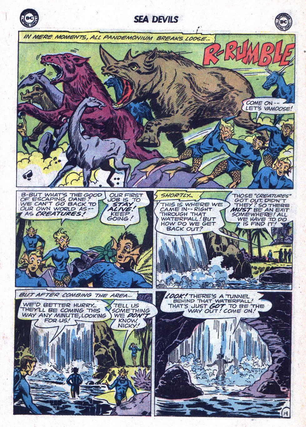 Read online Sea Devils comic -  Issue #18 - 18